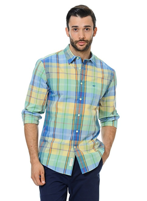 Dockers Kareli Gömlek Renkli